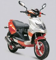 EEC/EPA DOT Approved 50cc Gas Motor Scooter WZMS0517EEC/EPA