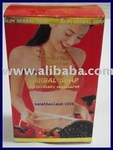 SLIM HERBAL BLACK PEPPER SOAP ANTI-CELLULITE FAT BURN 90g