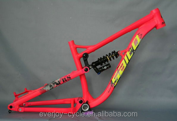 suspension bicycle frame/mountain bike frame/soft tail frame