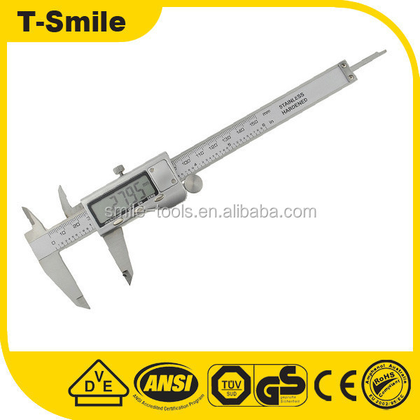 Electronic Digital Caliper Accuracy Stainless Steel Vernier Caliper 150mm Digital Vernier Caliper