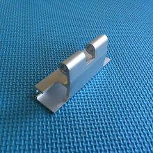 New design hot sale extruded aluminum 6063 cupboard hinge