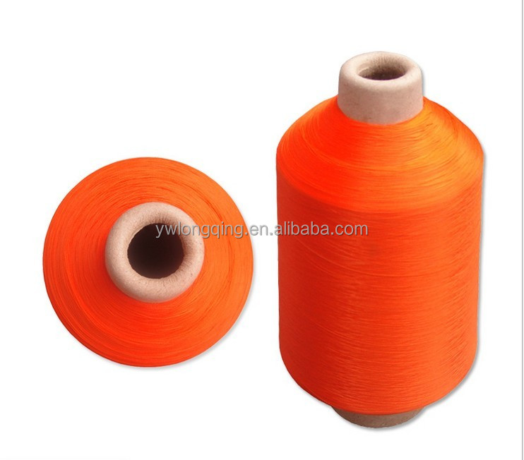 70D/24F/2 good fastness Dyed 100% High Stretch Nylon Yarn For Socks