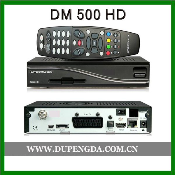 dm500hd satellite receiver linux dm 500 hd card sharing DM500HD satellite receiver with BCM4505 tuner with manufacture price