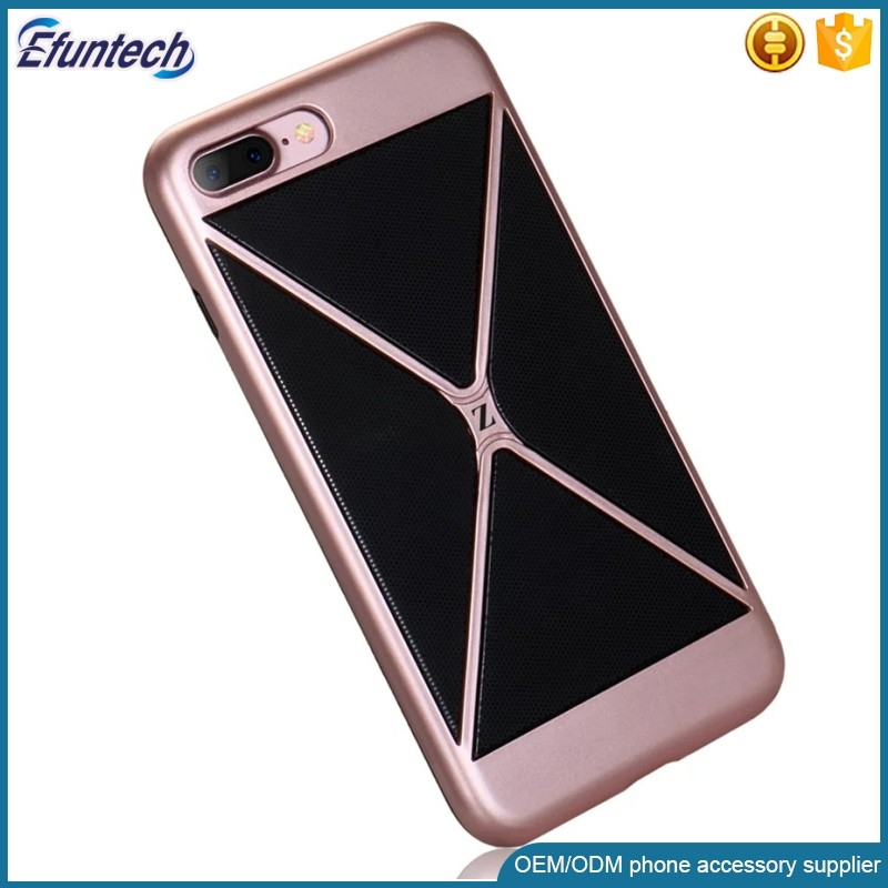 Mobile accessories new 2 in 1 durable back mobile phone shell for iphone 7 7 plus case