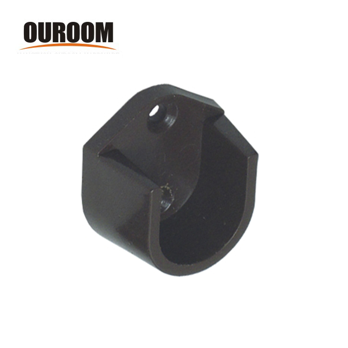Ouroom product tower rack bracket holder 40mm end cap for handrail post for bathroom