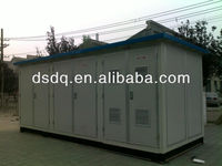 electrical panel board Box Transformer Substation/converting station for 11KV /33KV