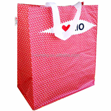 Promotional Colorful Recycled Non Woven Supermarket Shopping Tote Bag