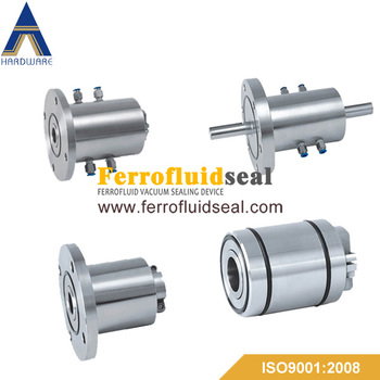 ferrofluid sealing shaft,magnetic fluid feedthoughs,vacuum seal