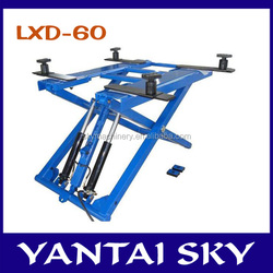LXD-60 factory price/used car lifts/scissor lift