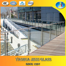 tempered glass fence panels/tempered glass pool fencing