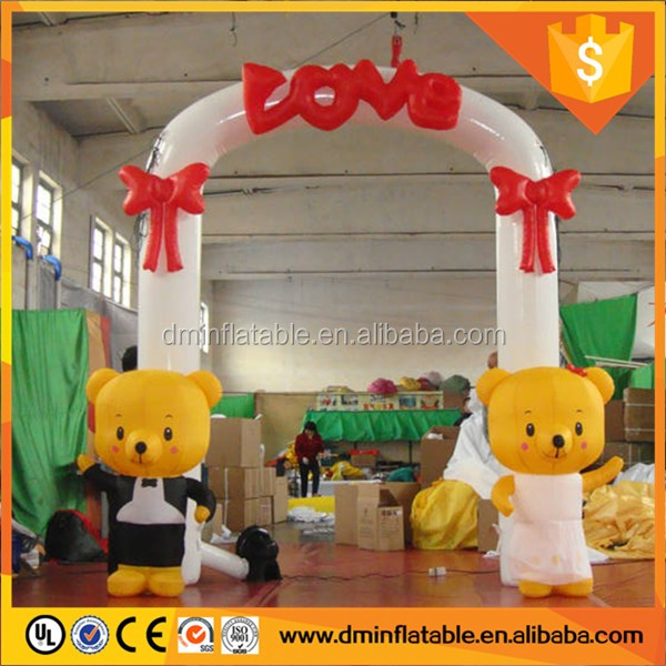 Outdoor cheap inflatable advertising arch, inflatable entry arch, inflatable arch gate No.dm056 for commercial