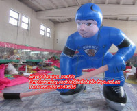 2016 New Custom Inflatable Ice Hockey Player