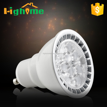 Led spot light dimmable bulb GU10 energy star 5 years warranty CRI90 7W 520lm 25 degree