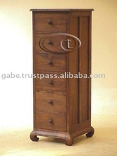 OPIUM LINGERIE 6 DRAWERS CHEST