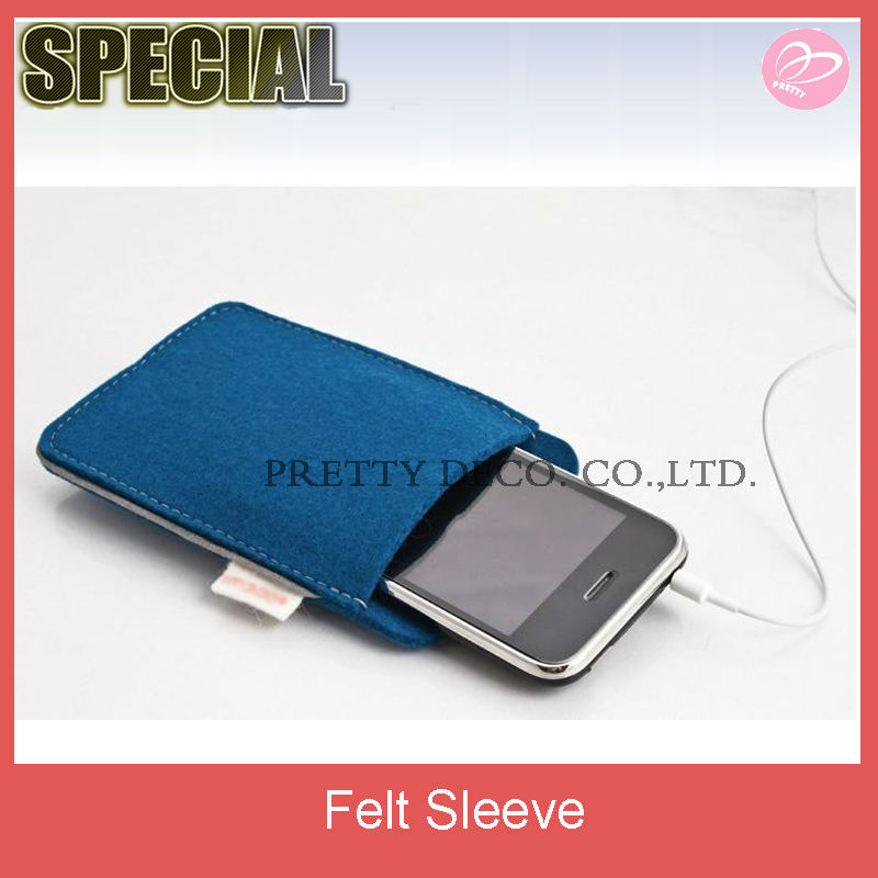 Felt mobile phone case for samsung galaxy,mobile cover