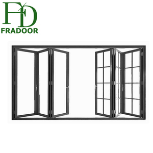Aluminum Luxury Partition Wall Lowes Glass Interior Folding Doors