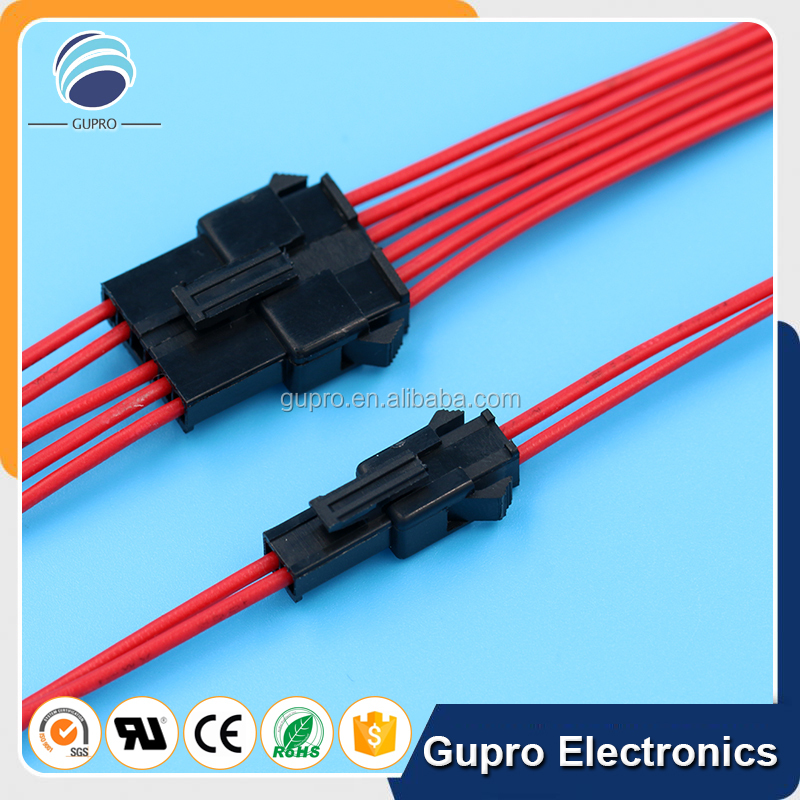 5 Pin JST SM 2.5mm Connector Plug Or Socket Jumper Wire Cable assembly Black 20cm