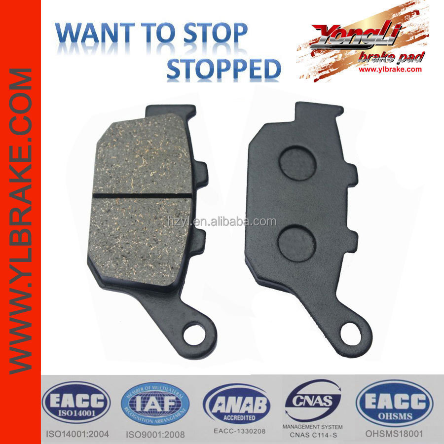 Good quality brake pad for kawasaki z750;Motorcycle Brake pads For MC22;China quality best motorcycle brake pads