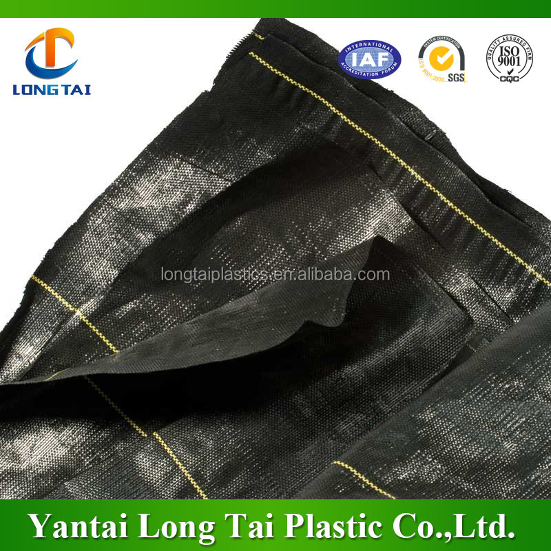High UV treated plastic weed barrier//plastic weed mat//plastic landscape fabric