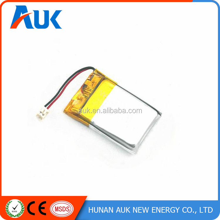 Li-polymer Battery 3.7V 110mAh Polymer Battery For Power Sparyer