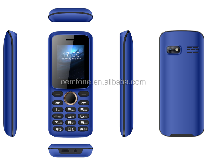 New design protable cheap feature phone