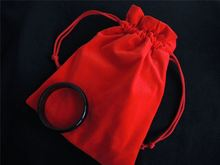 Soft drawstring silk jewelry pouches