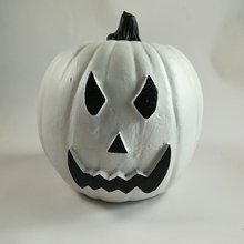 Environmental pumpkin bubble artificial white Wholesale Craft Foam Pumpkins