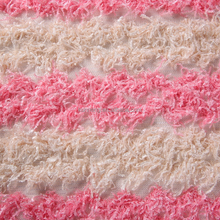 new design mesh velvet embroidered tulle lace fabric