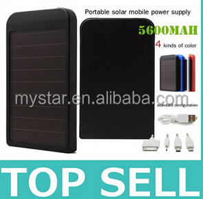 Solar Battery 5600MAH Mobile Phone Power Bank External Battery Charger for iPhone Samsung series