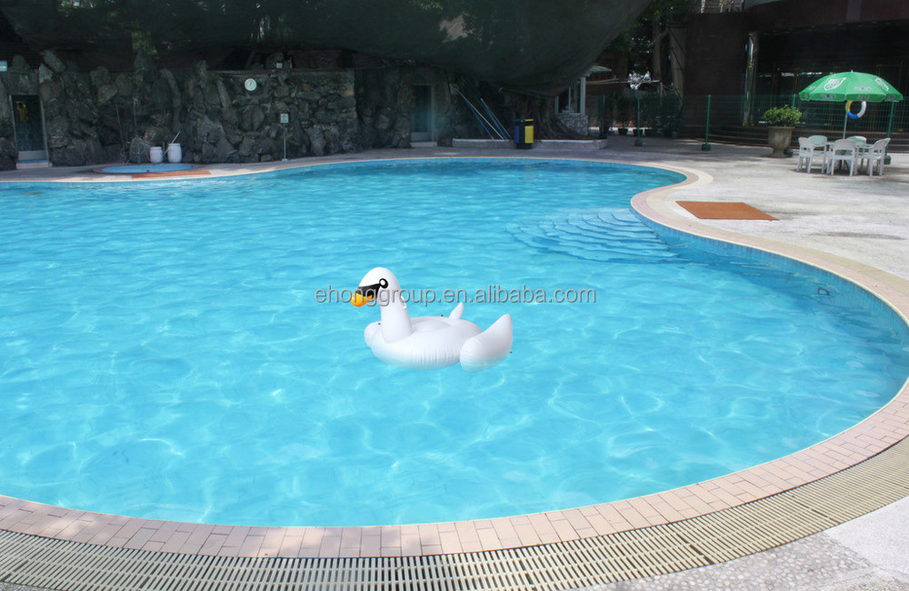 150cm 50inches giant inflatable swan float for adult pool toys