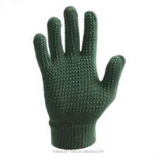 Green New fashion cheap anti-slip knitted magic gloves for wholesale