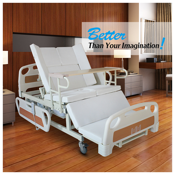 Health care products convenient electric home nursing bed for elderly