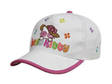 South Korea style colorful letters embroidered children baseball cap