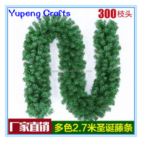 Christmas Decoration Supplier Artificial Christmas Garland with 300Tips