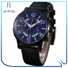 Genuine Leather Watch Elements Japan Movt Quartz Watches Brands