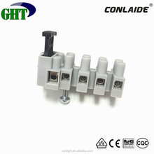 Conlight Hot Sale FT06 Plastic Electrical Screw Terminal Blocks With Wire Protector