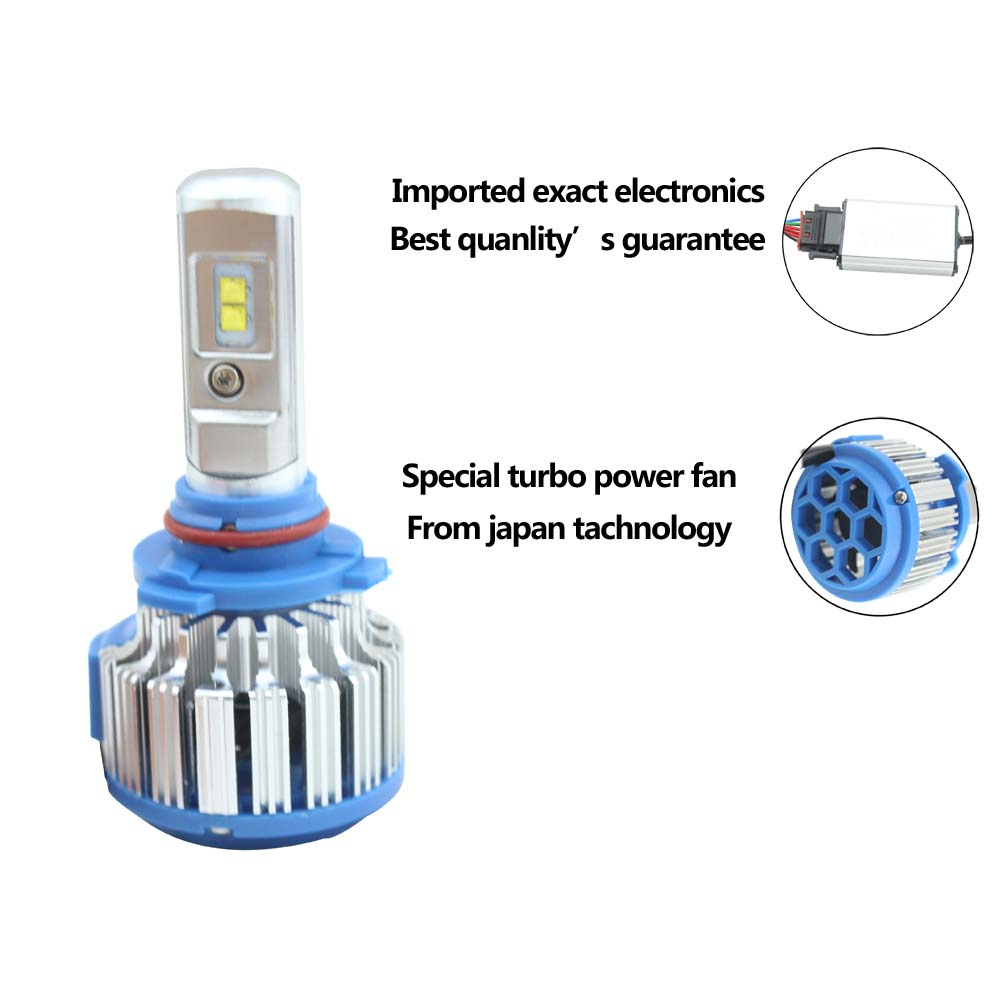 T1 car led headlight bulbs headlight led h4 h7 h11 h9 h10 9005 for auto LED