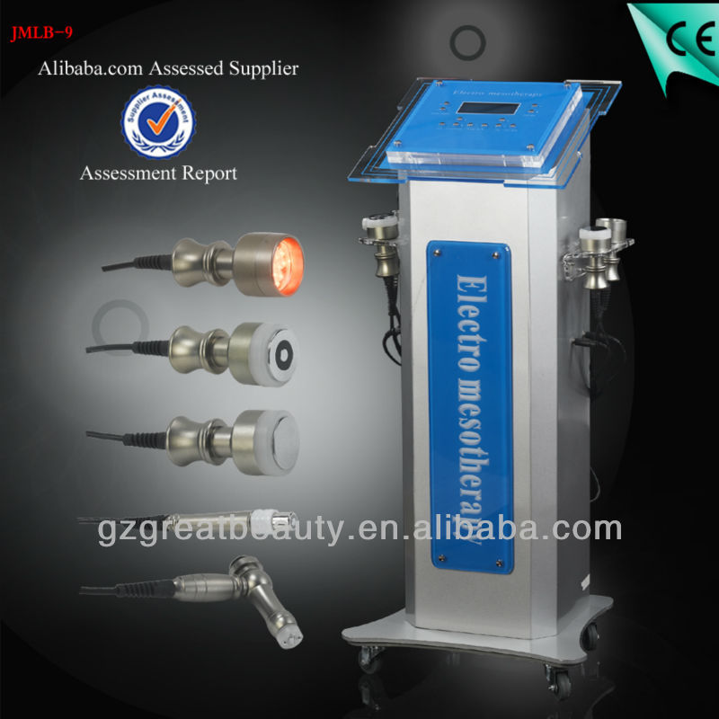 CE Approval Vertical No-Needle Mesotherapy Device for facial skin beauty