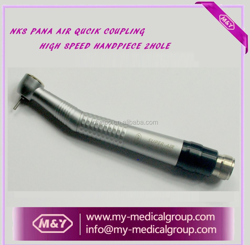 Dental clinic quick coupling high speed handpiece 2hole pana air style