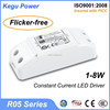 81 KEGU R05 1-8W Constant Current LED DRIVER 7w led driver(Flicker-free) with TUV CE SAA better than lifud driver led down light