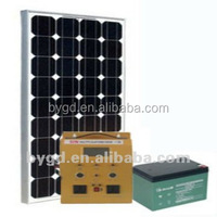 CHEAPEST 300W solar power system/transformer/generator with inbuilt battery charger& LCD display (BYGD-300Y)