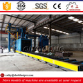 aluminum profiles roller conveyor shot blast cleaning machine/equipment price for sale