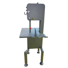 Efficient stainless steel meat bone cutting saw machine