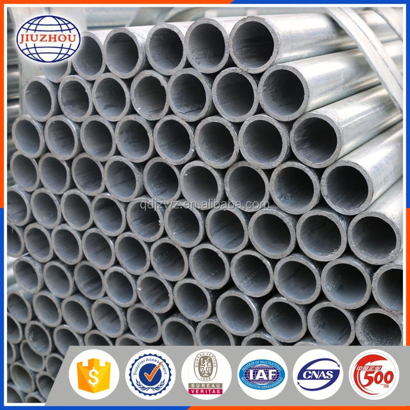good quality hot dip galvanized steel pipe support