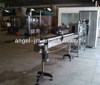 PVC labeling machine 3 in 1 filling plant/PET bottle mineral water filling/packing producing factory