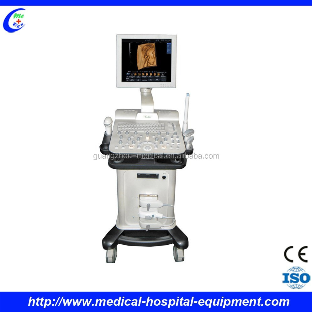 ULTRASOUND 3D4D COLOUR DOPPLER SCAN MACHINE WITH CARDIAC PORBE, GYNAE PROBE