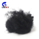 black 6D recycled PET polyester staple fiber from chemical fibers plant