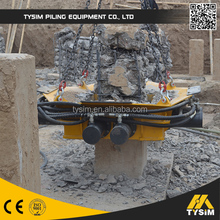 LEADING manufacture!!! Crawler Hydraulic excavator parts, KP500S Pile Cutter with Hydraulic Cylinder