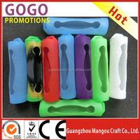 factory made silicone stickers/skin/case/sleeve/holder for 18650 battery 200w vapor battery