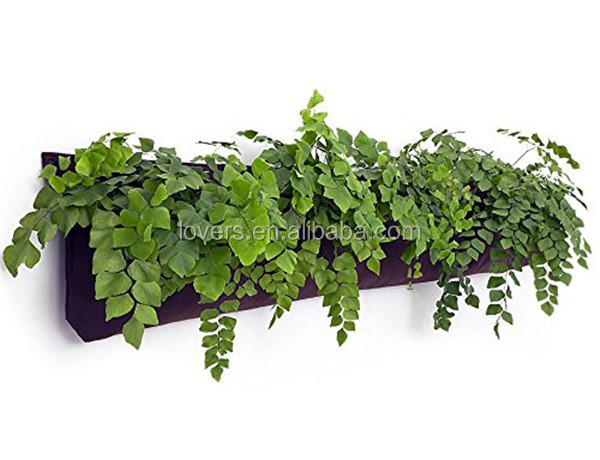 Hanging Flower Pots Vertical Wall Gardening Planter grow bag vertical garden felt bag